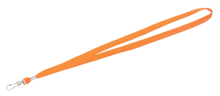 Hi Vis Orange Lanyard
