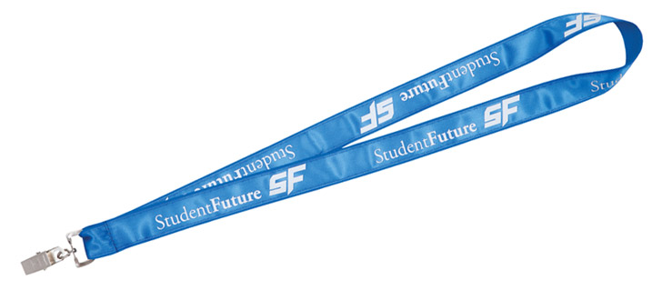 "1"" Poly/Satin Lanyard"